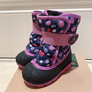 Kamik Toddler Girl's Snowbug4 Winter Boot
